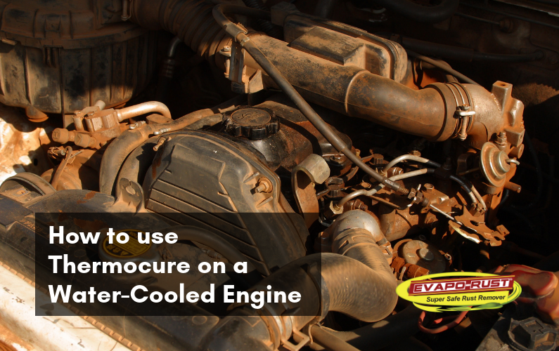 How to use Thermocure on a Water-Cooled Engine