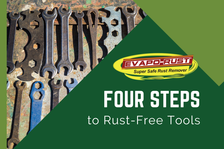 evapo rust, rust remover, safe to us, de -rust tools, rust-free tools, restore, rust prevention
